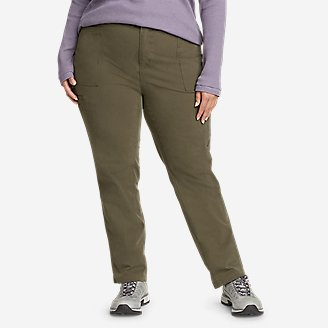 Women's Guides' Day Off Straight Leg Pants in Green