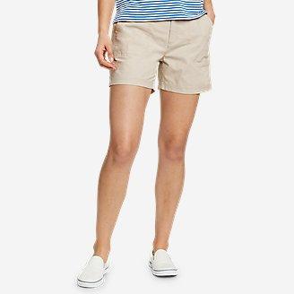 Women's Adventurer Stretch Ripstop Shorts in Beige