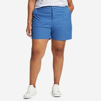 Women's Adventurer Stretch Ripstop Shorts in Blue