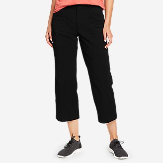 Women's Guides' Day Off Wide-Leg Pants in Black