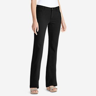 Women's Elysian Twill Trousers - Curvy in Black