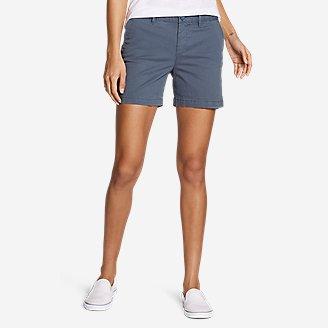 Women's Willit Stretch Legend Wash Shorts - 5' in Blue