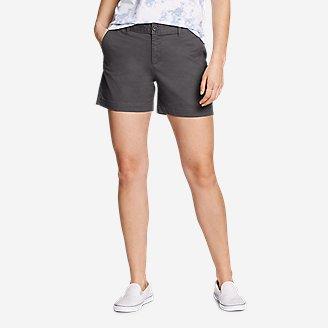 Women's Willit Stretch Legend Wash Shorts - 5' in Gray
