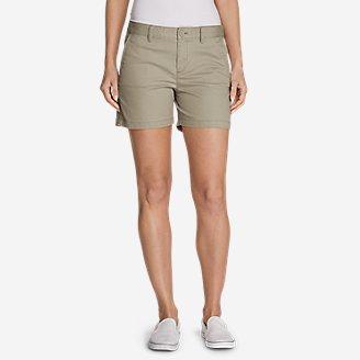 Women's Willit Stretch Legend Wash Shorts - 5' in White