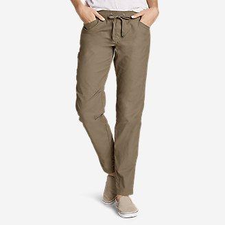 Women's Exploration Pants in Green