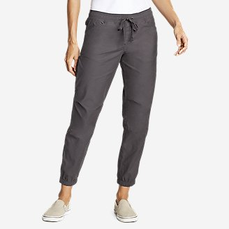 Women's Exploration Jogger Pants in Gray