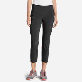 Women's Incline Crop Pants in Gray