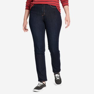 Women's Voyager High-Rise Jeans - Slim Straight in Blue