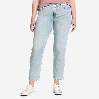 Women's Boyfriend High-Rise Ankle Jeans in Blue