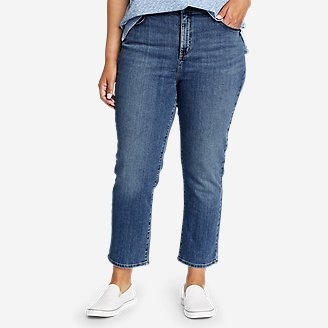 Women's Voyager Crop Jeans in Blue