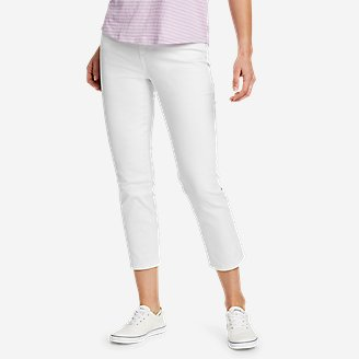 Women's Voyager Crop Jeans in White