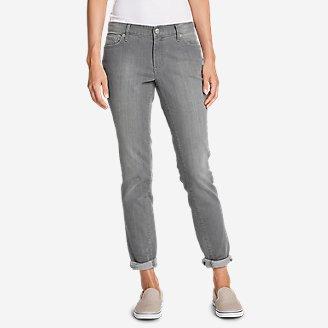 Women's Boyfriend Jeans - Slim Leg in Gray