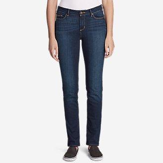 Women's StayShape Straight Leg Jeans - Slightly Curvy in Purple