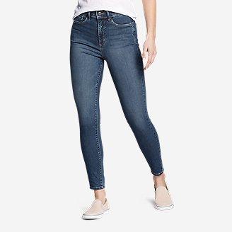 Women's Elysian Skinny High-Rise Jeans in Blue