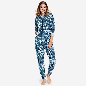 Women's Cozy Camp Suit in Blue