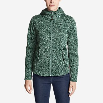 Women's Radiator Fleece Cirrus Jacket in Green