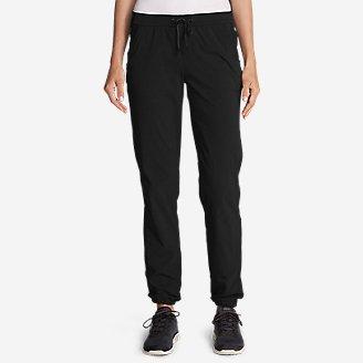 Women's Horizon Adjustable Jogger Pants in Black