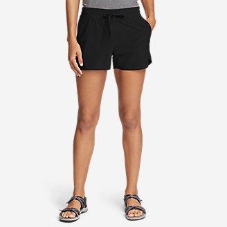 Women's Departure Amphib Shorts in Black