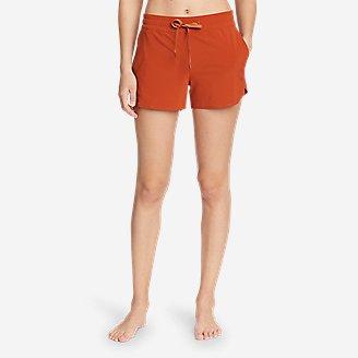 Women's Departure Amphib Shorts in Orange