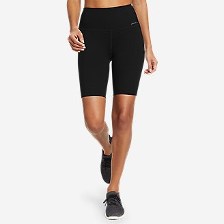 Women's Movement Lux Biker Shorts in Black