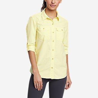 Women's Mountain Ripstop Long-Sleeve Shirt in Yellow