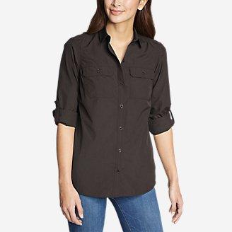 Women's Mountain Ripstop Long-Sleeve Shirt in Gray