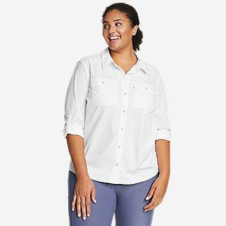Women's Mountain Ripstop Long-Sleeve Shirt in White