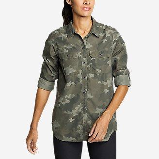 Women's Mountain Long-Sleeve Shirt in Green
