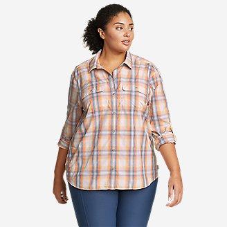 Women's Mountain Long-Sleeve Shirt in Yellow
