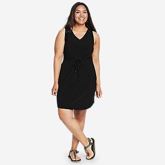 Women's Departure Easy Tank Dress in Black