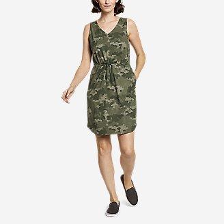 Women's Departure Easy Tank Dress in Green