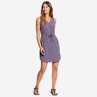 Women's Departure Easy Tank Dress in Purple