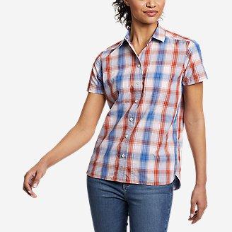 Women's Mountain Short-Sleeve Shirt in Orange