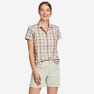 Women's Mountain Short-Sleeve Shirt in Green