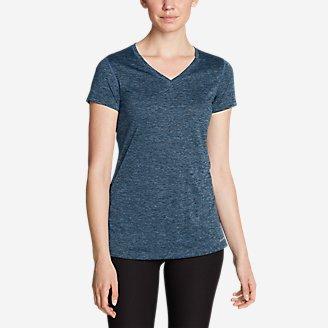 Women's Resolution V-Neck T-Shirt in Blue