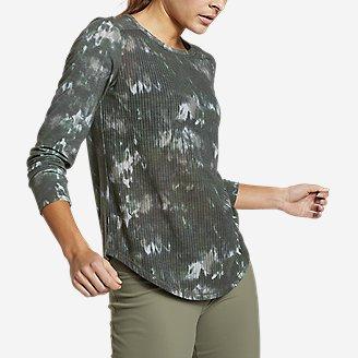 Women's Trail Breeze Long-Sleeve T-Shirt in Green