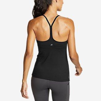 Women's Resolution 360 Y-Back Tank Top in Black