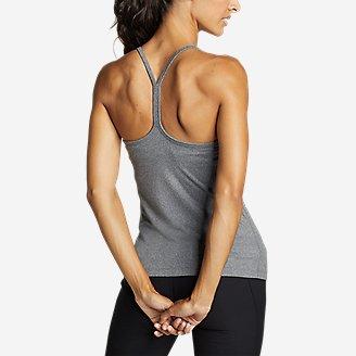 Women's Resolution 360 Y-Back Tank Top in Gray
