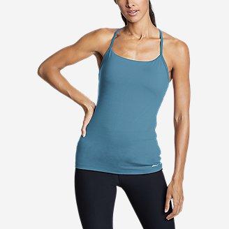 Women's Resolution 360 Y-Back Tank Top in Blue