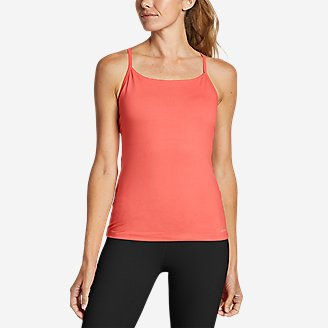 Women's Resolution 360 Y-Back Tank Top in Red
