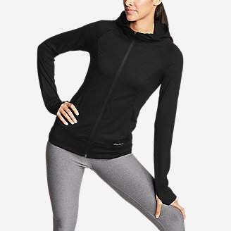 Women's Resolution 360 Full-Zip Hoodie in Black