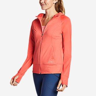 Women's Resolution 360 Full-Zip Hoodie in Red