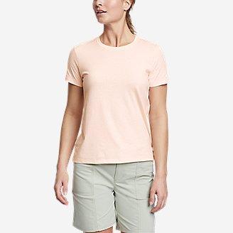 Women's Myriad Short-Sleeve Crew - Solid in White