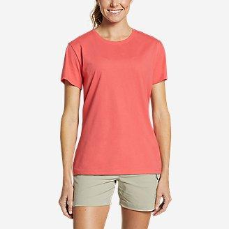 Women's Myriad Short-Sleeve Crew - Solid in Red
