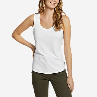 Women's Myriad Tank Top in White