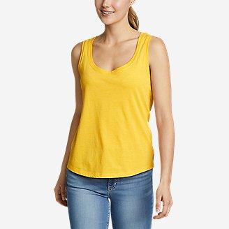 Women's Myriad Tank Top in Yellow