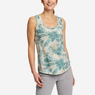 Women's Myriad Tank Top - Print in Green