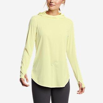 Women's Solarfoil Hoodie in Yellow