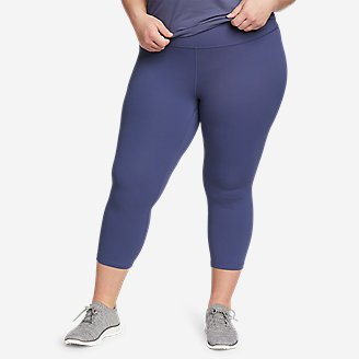 Women's Movement Lux High-Rise Capris in Blue
