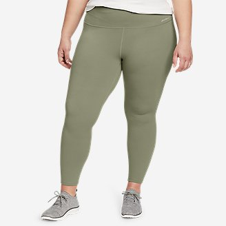 Women's Movement Lux High-Rise 7/8-Length Leggings in Green